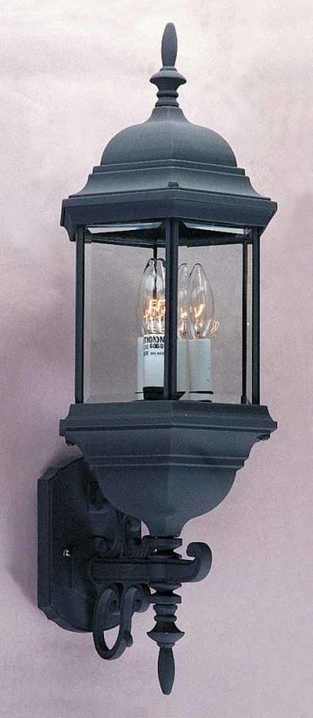 """Volume Lighting V8131 3 Light 26.5"""" Height Outdoor Wall Sconce with"""