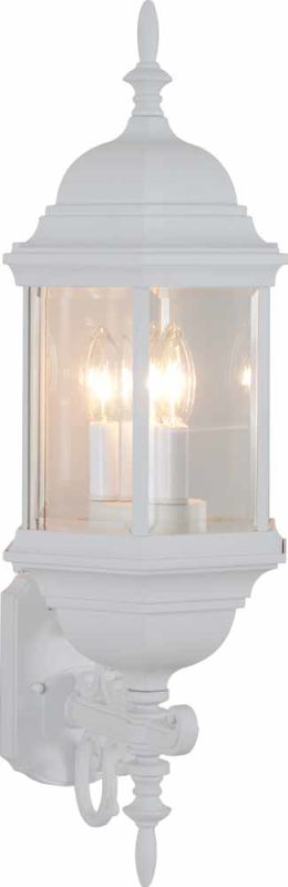 "Volume Lighting V8131 3 Light 26.5"" Height Outdoor Wall Sconce with"