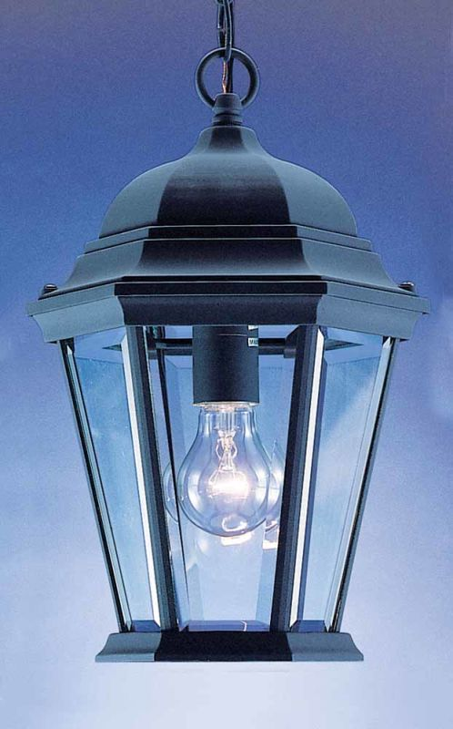 "Volume Lighting V8222 1 Light Outdoor 14.5"" Height Pendant with Clear"