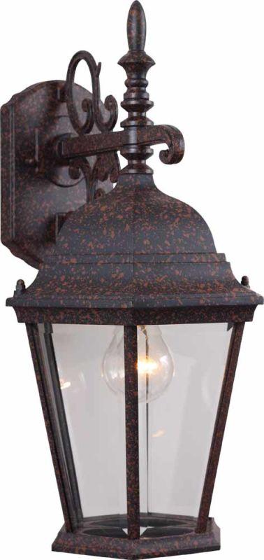 "Volume Lighting V8230 1 Light 18.5"" Height Outdoor Wall Sconce Rust"