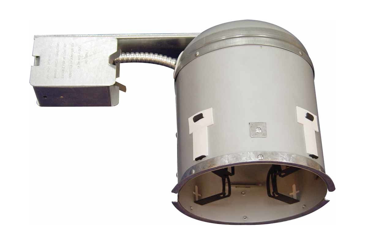 "Volume Lighting V8666 7.5"" Height Non IC Air Tight Recessed Housing"
