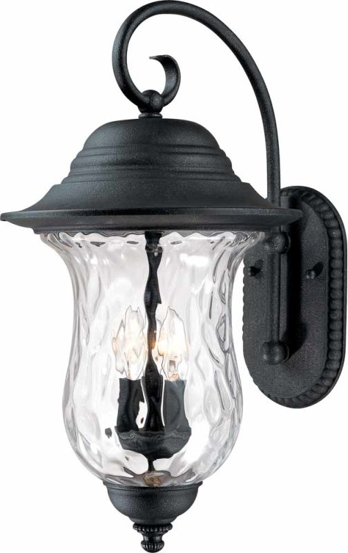 "Volume Lighting V8710 Aurora 3 Light 23.5"" Height Outdoor Wall Sconce"