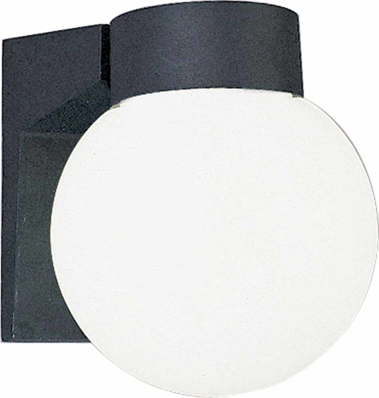 "Volume Lighting V8896 1 Light 7"" Height Outdoor Wall Sconce with White"
