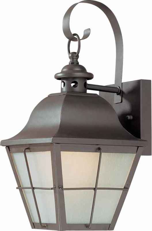"""Volume Lighting V9031 1 Light 14"""" Height Outdoor Wall Sconce with"""