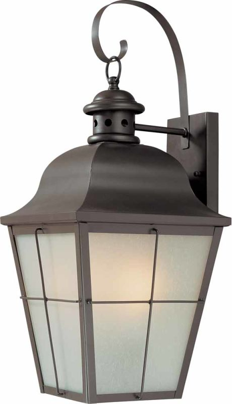 """Volume Lighting V9032 3 Light 20.75"""" Height Outdoor Wall Sconce with"""