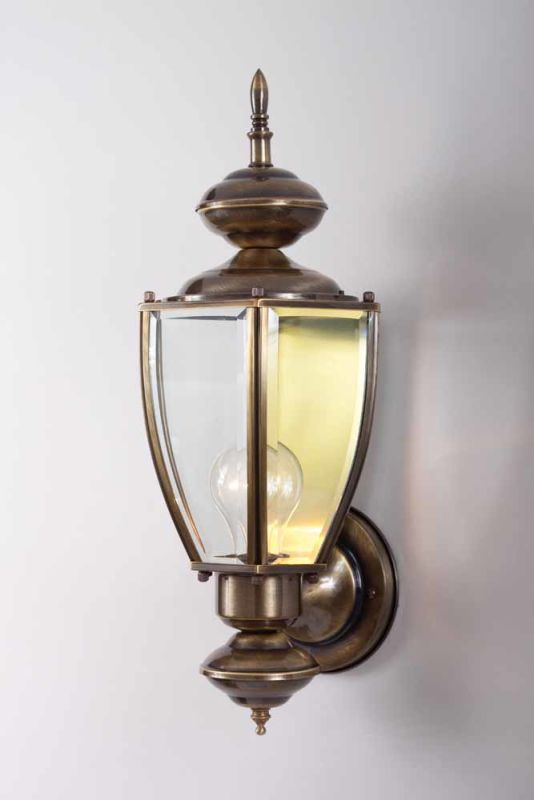 "Volume Lighting V9251 1 Light 16.5"" Height Outdoor Wall Sconce Antique"