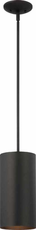 "Volume Lighting V9606 1 Light Outdoor 12"" Height Pendant with Metal"