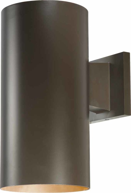 """Volume Lighting V9626 1 Light 12"""" Height Outdoor Wall Sconce with"""