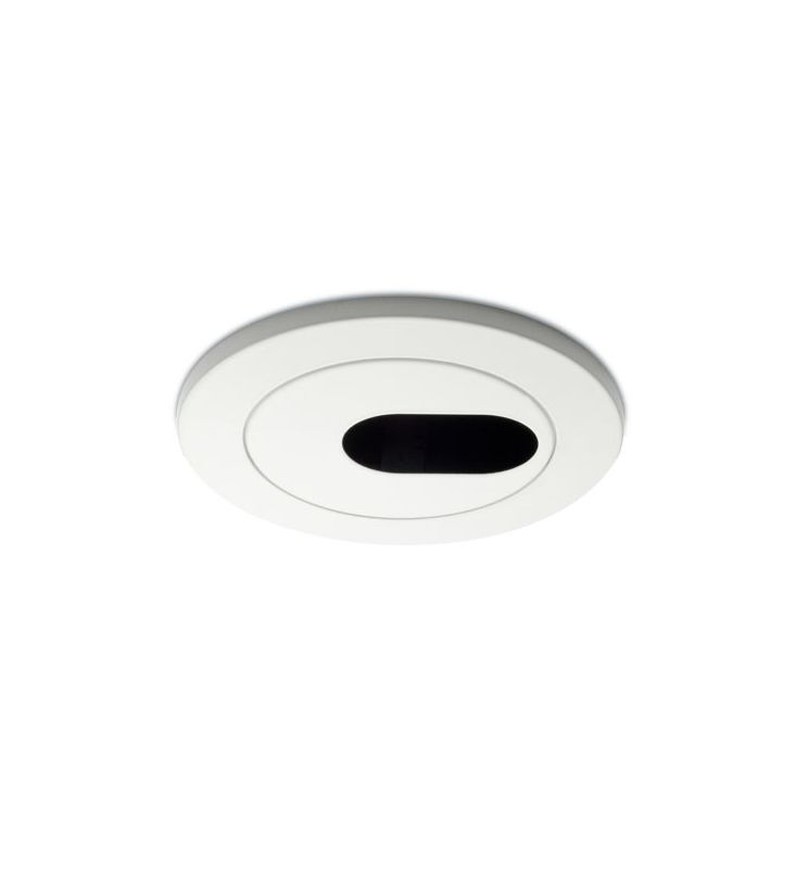 "WAC Lighting HR-D413 4"" Low Voltage Recessed Light Pinhole Trim White"
