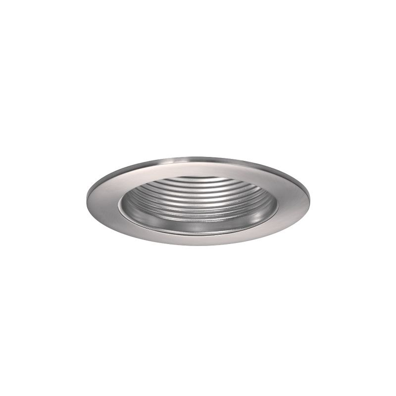 "WAC Lighting R-420 4"" Line Voltage Recessed Light Baffle Trim Brushed"
