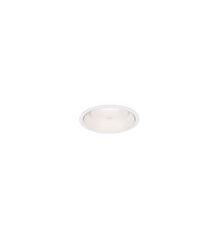 "WAC Lighting R6VT-29 6"" Line Voltage Recessed Light Baffle Trim White"