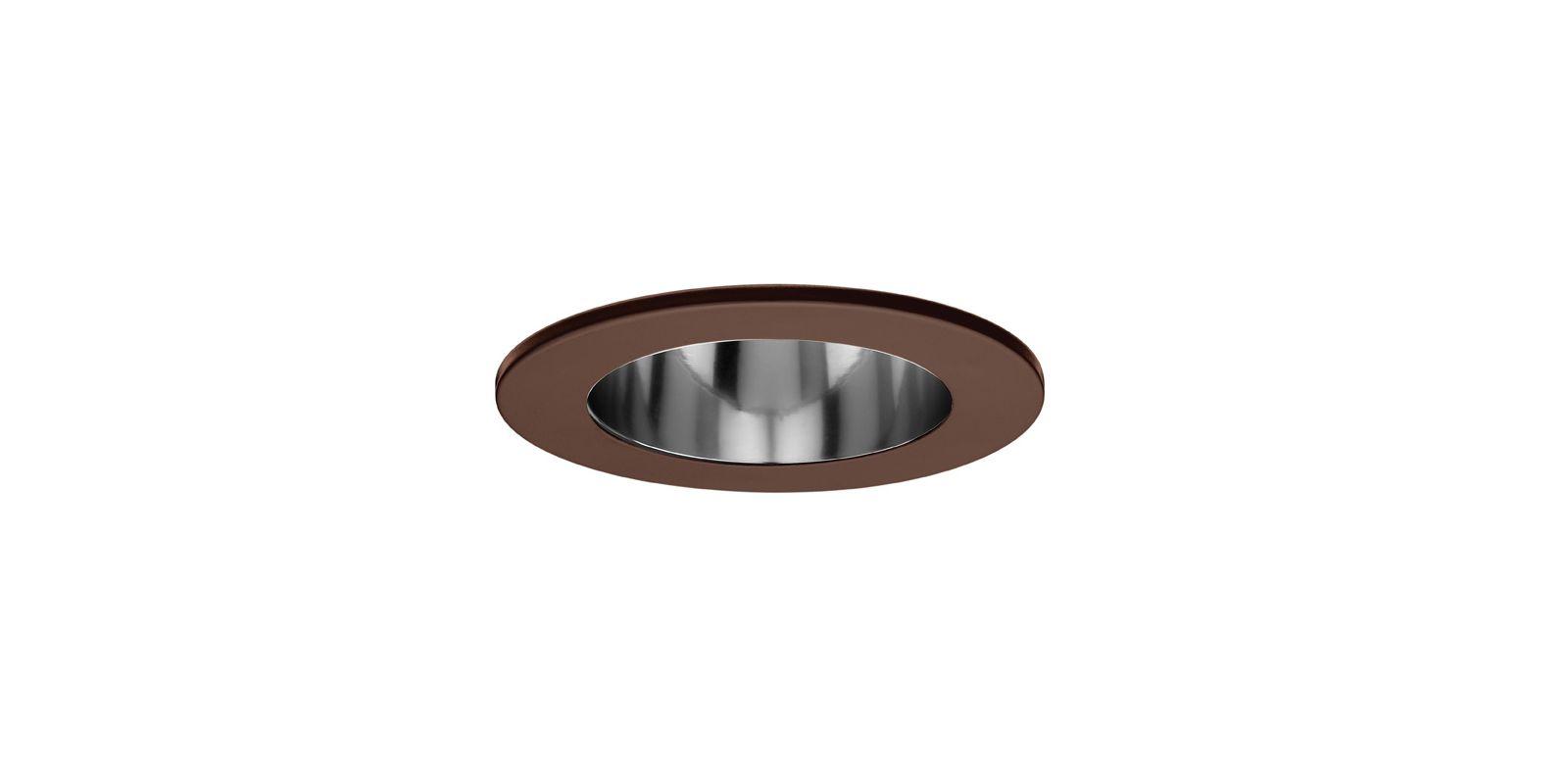 "WAC Lighting R-521 5"" Line Voltage Recessed Light Open Trim Copper"