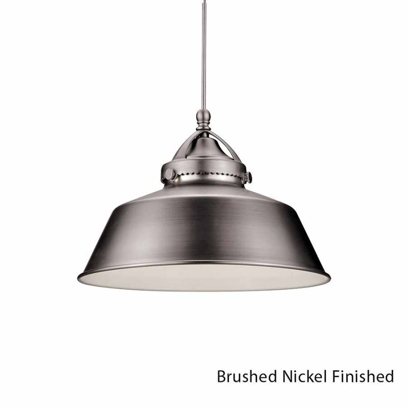 WAC Lighting G483 Wyandotte Shade Only Brushed Nickel Accessory Shades Sale $53.50 ITEM: bci2270442 ID#:G483-BN UPC: 790576243979 :