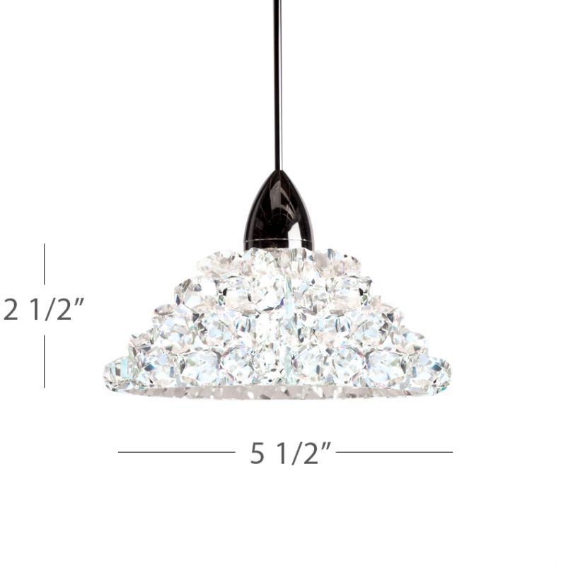 WAC Lighting G543 Replacement Glass Shade for 543 Pendants from the Sale $131.50 ITEM: bci2440940 ID#:G543-WD UPC: 790576300351 :