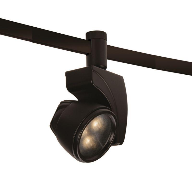 WAC Lighting HM1-LED9F-35 Reflex 9 Watt LEDme Flexrail1 Dark Bronze
