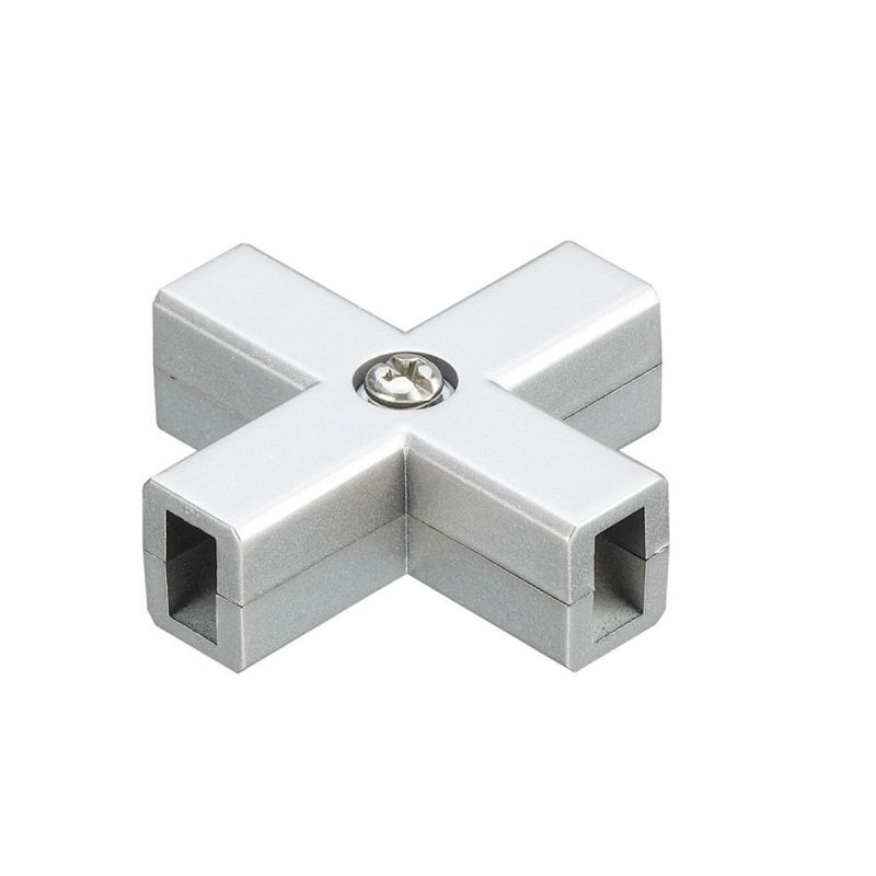"WAC Lighting LM-XDEC 2"" Length Dead End X-Connector for Solorail"