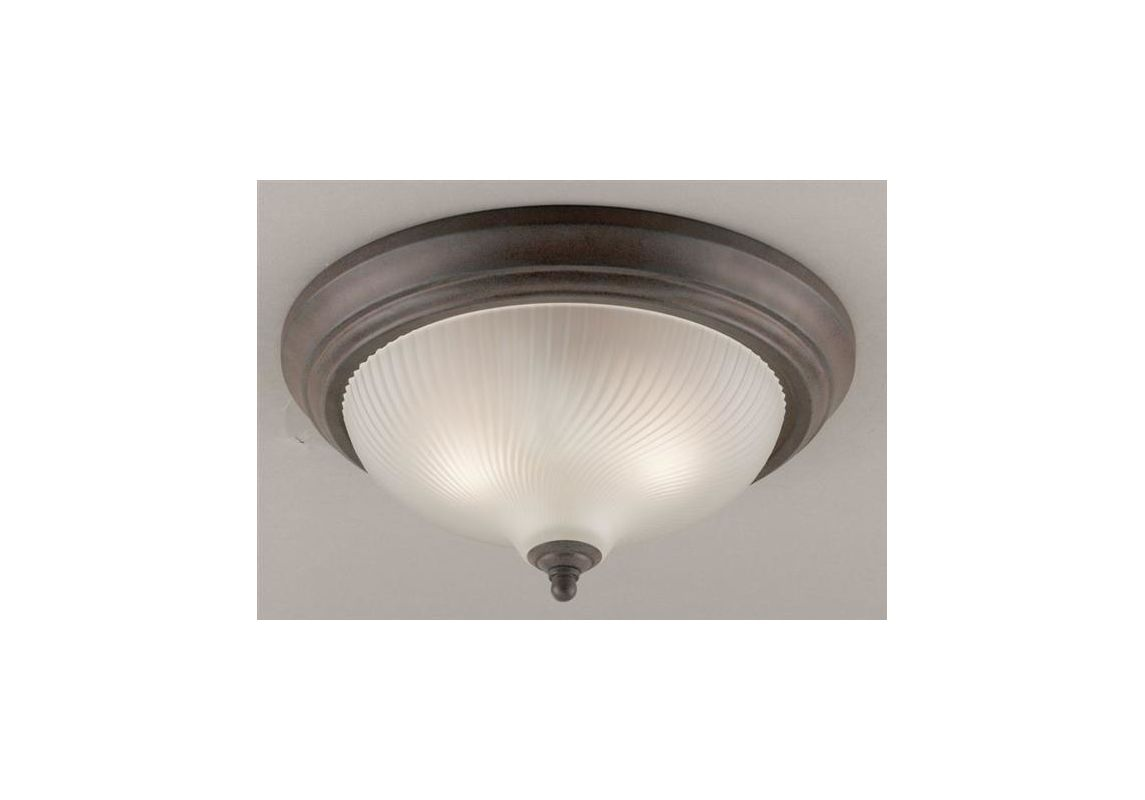 Westinghouse 64309 Single Light Ceiling Fixture Featuring Frosted