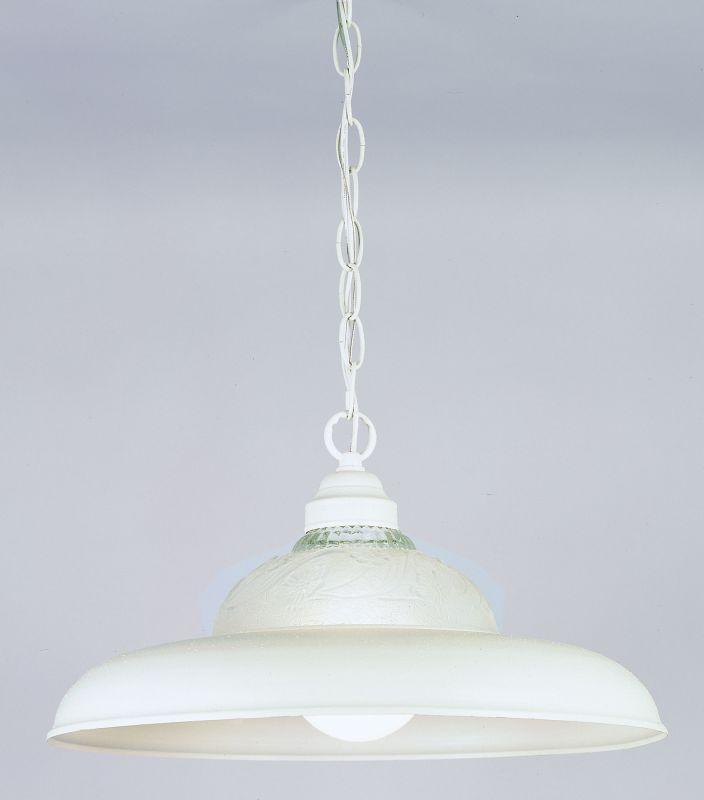 Westinghouse W66160 Single Light Pendant Textured White Indoor