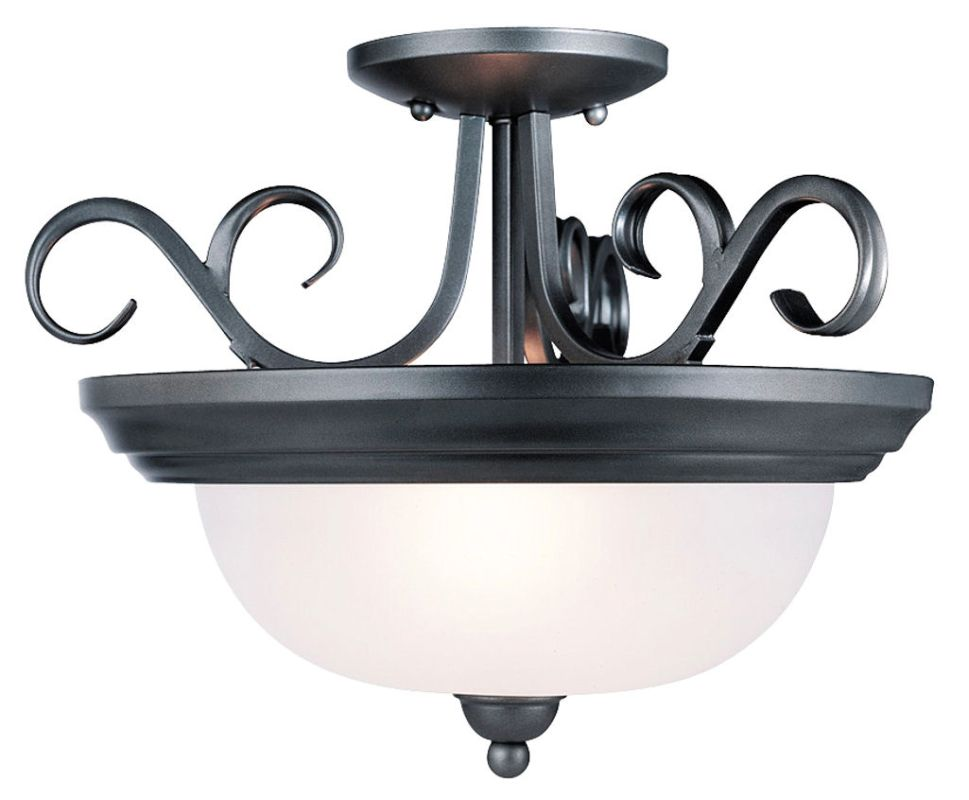 Westinghouse 66254 Semi-Flush Ceiling Fixture from the Pine Creek Sale $68.50 ITEM: bci270060 ID#:66254 UPC: 24034662546 :