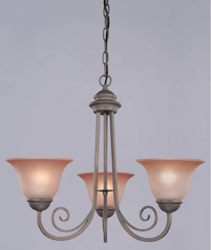 Westinghouse 66587 3 Light Chandelier from the Spring Valley