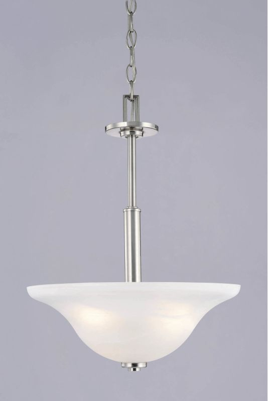 Westinghouse 66642 Bowl Pendant from the Churchville Collection