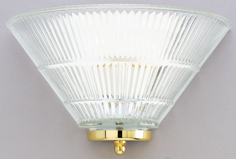 Westinghouse 66662 Single Light Wall Washer Sconce Polished Brass