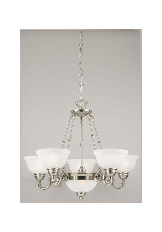 Westinghouse 69210 6 Light Up / Down Lighting Chandelier from the La