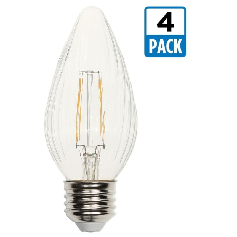 Westinghouse 0319320 Pack of (4) 2.5 Watt Damp Rated Dimmable F15