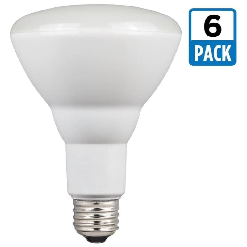 Westinghouse 0514820 Pack of (6) 9 Watt Damp Rated Dimmable BR30