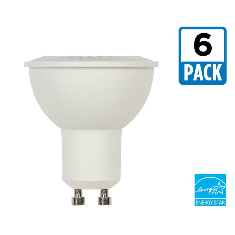 Westinghouse 4303220 Pack of (6) 6.5 Watt Damp Rated Dimmable MR16