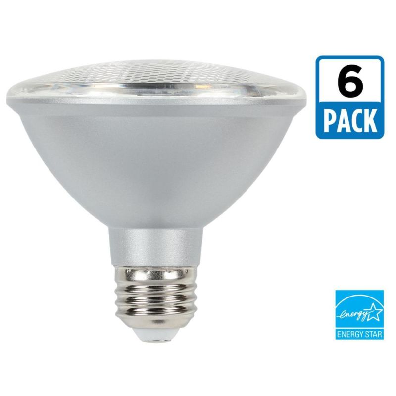 Westinghouse 4316020 Pack of (6) 10 Watt Damp Rated Dimmable PAR30