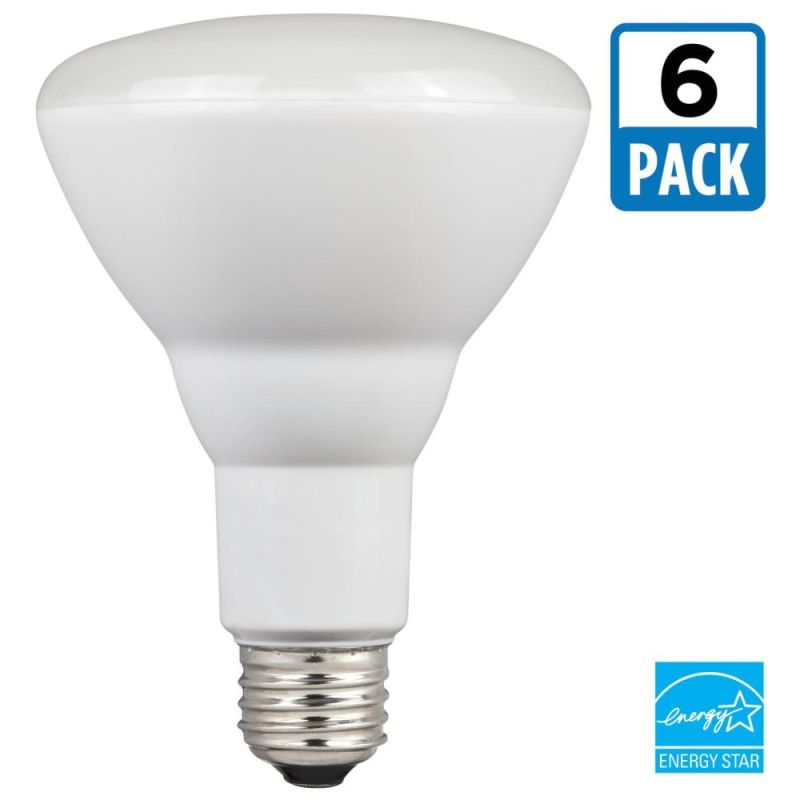Westinghouse 5301020 Pack of (6) 9 Watt Damp Rated Dimmable BR30