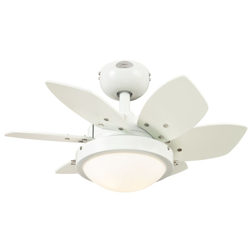 """Westinghouse 7247100 Quince 24"""" 6 Blade Hanging Indoor Ceiling Fan"""