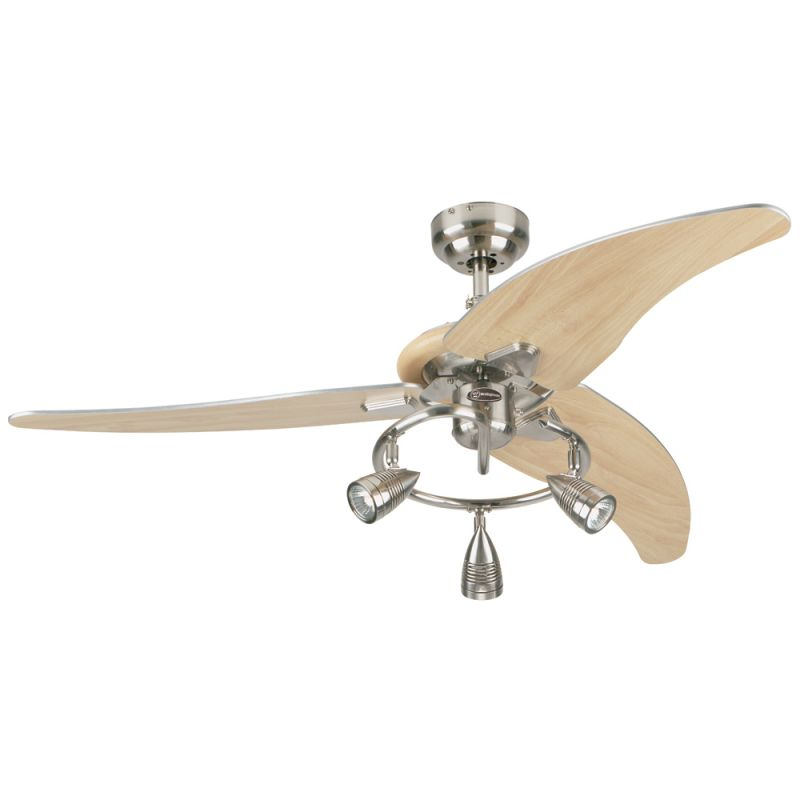 """Westinghouse 7850500 Elite 48"""" 3 Blade Hanging Indoor Ceiling Fan with"""