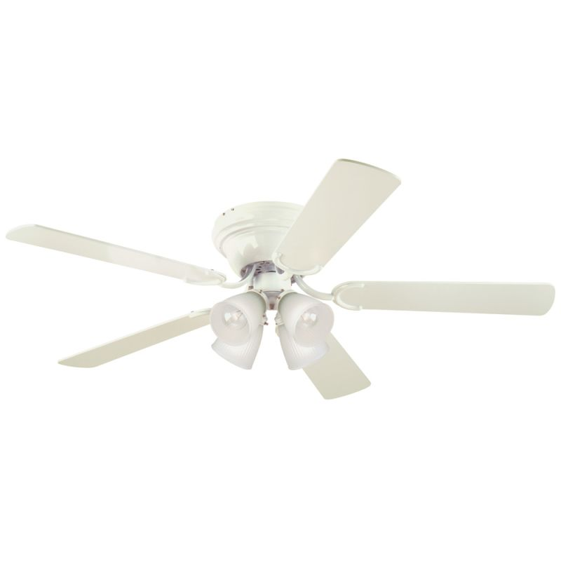 "Westinghouse 7871500 Contempra Iv 52"" 5 Blade Hugger Indoor Ceiling Sale $90.94 ITEM: bci2708896 ID#:7871500 UPC: 24034787157 :"