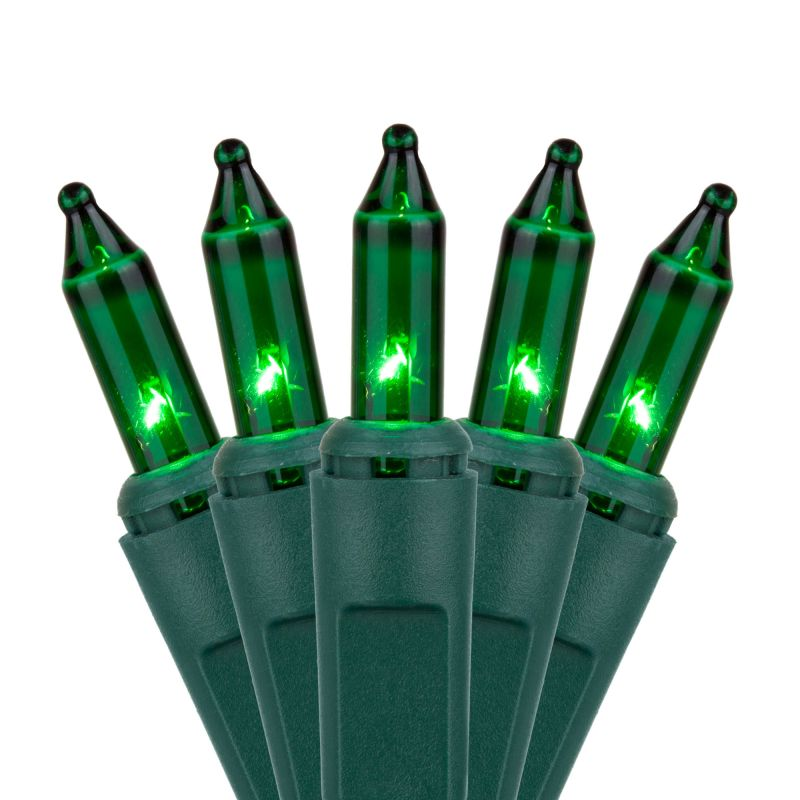 Wintergreen Lighting 15206 50.5' Long Indoor Standard 100 Mini Light