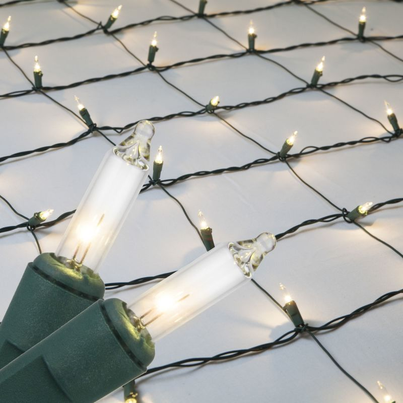 Wintergreen Lighting 15245 Mini 4´ x 6´ Net Holiday Lights with 150
