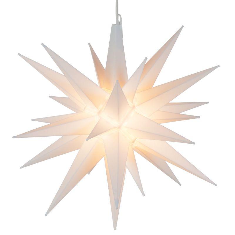 """Wintergreen Lighting 16923 Indoor / Outdoor Moravian Star with 60"""""""