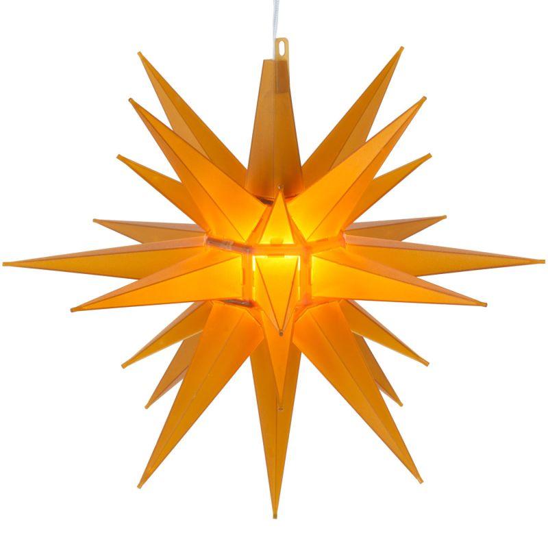 """Wintergreen Lighting 17478 Indoor / Outdoor Moravian Star with 60"""""""
