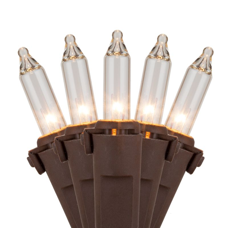 Wintergreen Lighting 17534 50.5' Long Outdoor Premium 100 Mini Light