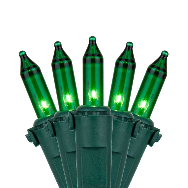 Wintergreen Lighting 17538 50.5' Long Outdoor Premium 100 Mini Light