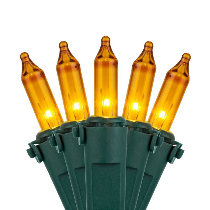 Wintergreen Lighting 17546 50.5' Long Outdoor Premium 100 Mini Light