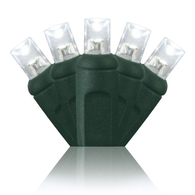 Wintergreen Lighting 71353 50 Bulb 25 1/2 Foot Long LED Decorative