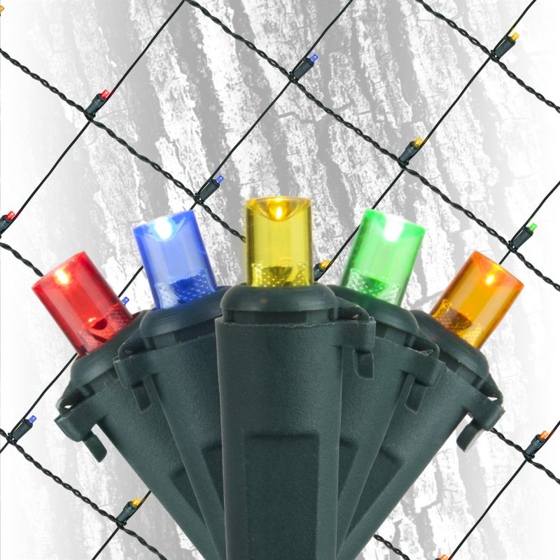 Wintergreen Lighting 20950 2´ x 6´ Multicolor LED Trunk Wrap - 100 Sale $24.92 ITEM: bci2546082 ID#:NT-LED-5MM-2x6-100-MUL-RBAG(GO)-L24-T4-GW UPC: 840052102358 :