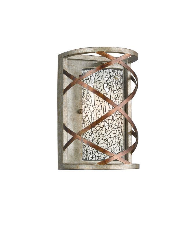 Woodbridge Lighting 12641VIN-WHT 1 Light Wall Sconce with White Mosaic Sale $182.86 ITEM: bci1978684 ID#:12641VIN-M10WHT :