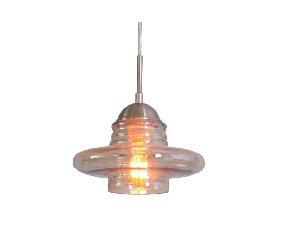 Woodbridge Lighting 13623STN-C10922 1 Light Mini Pendant with Plated