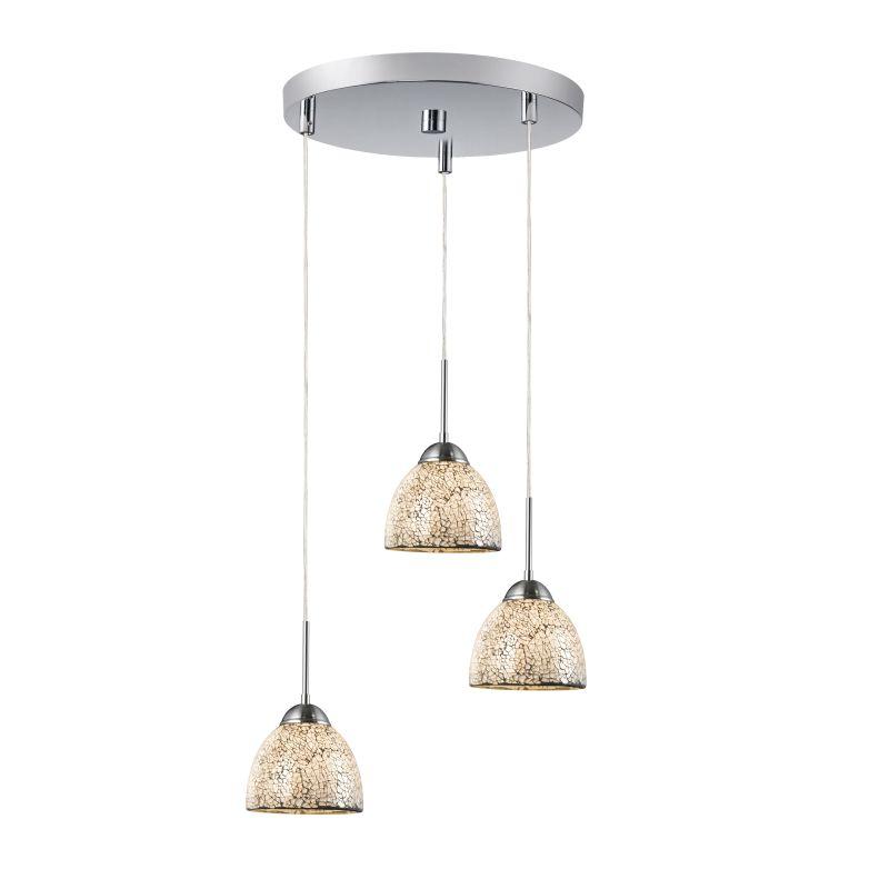 Woodbridge Lighting 13624STN-M21WHT 3 Light Pendant Cluster with Satin Sale $344.67 ITEM: bci1978731 ID#:13624STN-M21WHT :