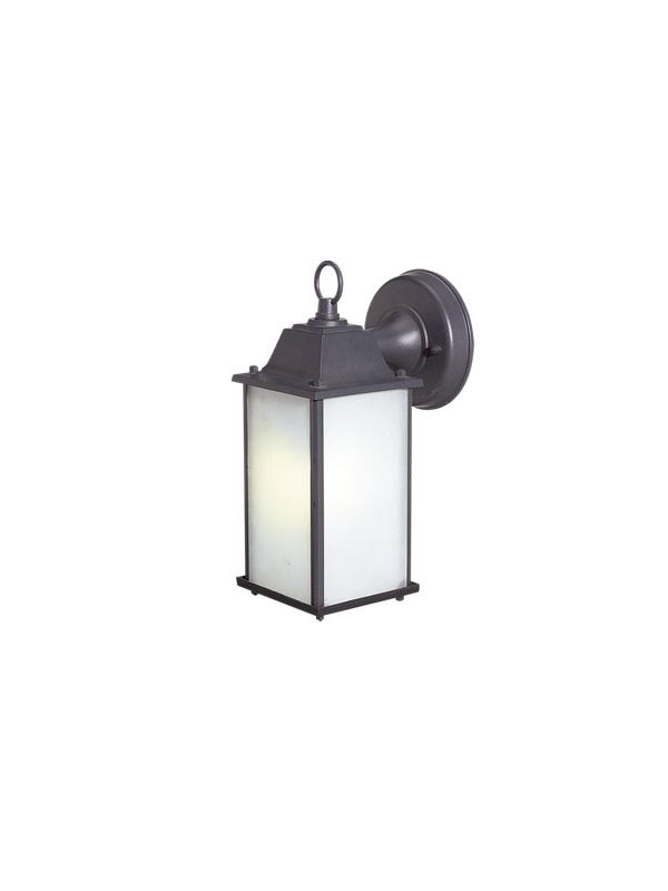 Woodbridge Lighting 60001WL-RTP 1 Light Wall Sconce with Bulb Included
