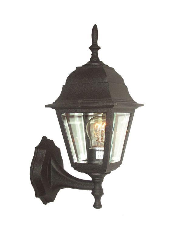 Woodbridge Lighting 60002-BKP 1 Light Wall Sconce from the Basic