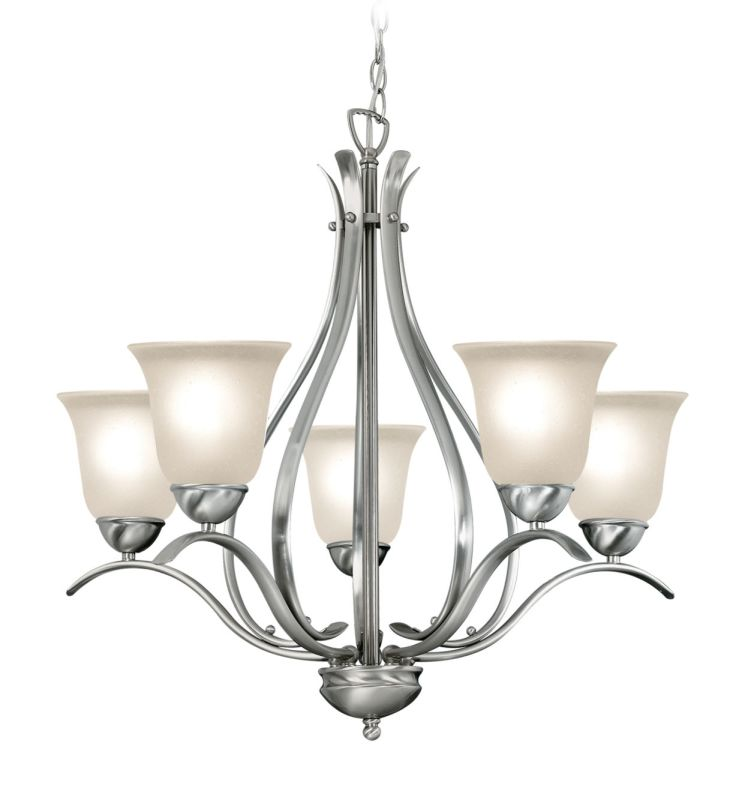Woodbridge Lighting 10041 Beaconsfield 5 Light Chandelier Satin Nickel Sale $259.65 ITEM: bci2195865 ID#:10041-STN :